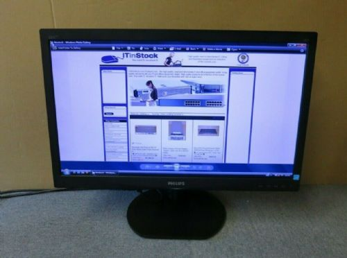 "Phillips 231S4L 231S4LCB/00 Brilliance S-Line 23"" LCD TFT LED ISP Monitor VGA DV"
